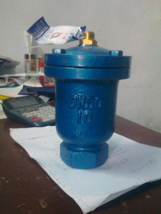 采购dn50铸钢材质丝扣自动排气阀图片