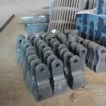 锤式破石机锤头破碎机高铬合金锤头 煤矸石粉碎机高锰钢锤头