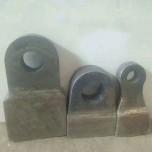 耐磨合金锤头超耐磨耐冲击甩锤高锰钢加合金锤头大甩锤破碎机配件
