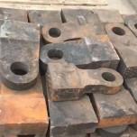 合金锤头超耐磨耐冲击甩锤高锰钢加合金锤头大甩锤破碎机配件
