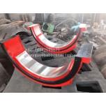 生产加工球磨机轴瓦 水泥磨机轴瓦 棒磨机轴瓦 轴瓦定制加工
