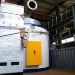 长兴永成新型低能耗环保有机玻璃亚克力裂解炉