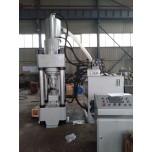Y多功能全自动铝屑压块机可对各种不同废旧金属碎屑成型