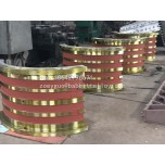 厂家生产加工巴氏合金轴瓦 滑动轴承 白合金轴瓦