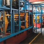 明泽全自动铸造生产线可根据实际需求任意定制节能无污染操作简单